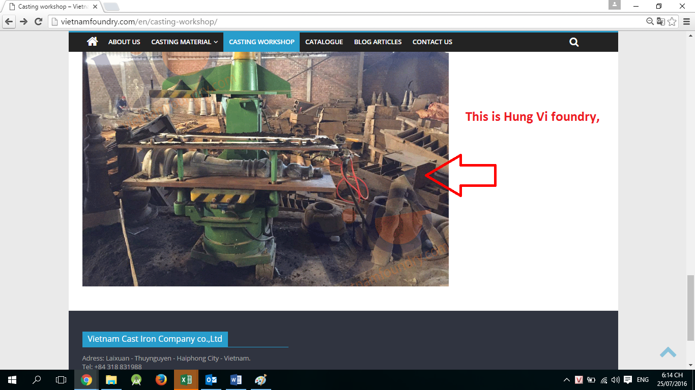 Hung Vi Foundry fake