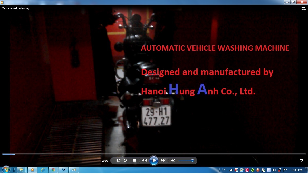 Automatic Vehicle Washing Machine